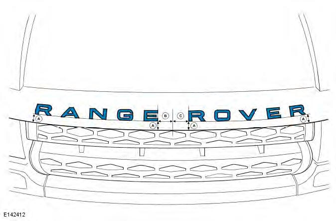 Range Rover Evoque. Exterior Trim and Ornamentation